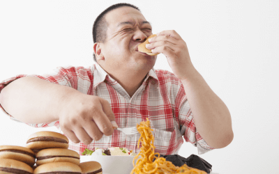 When you eat like there is no tomorrow…Talk to your homeopath about Psorinum